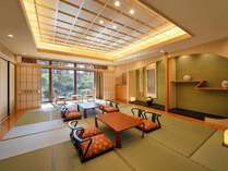 Japaneseスイート『欅』(96平米)和室定員8名様のお部屋です。