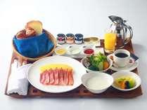 朝食ルームサービスアメリカンブレックファースト