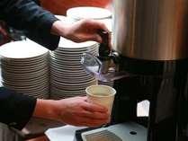 テイクアウトコーヒー。お部屋でもごゆっくり味わいいただけます。