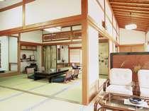 特別室(奥書院)広々としたお部屋でゆったりお過ごしください。