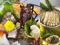 """<伊勢海老or鮑orお刺身グレードアップ>""""お好みのお料理""""をチョイスして食旅をさらに充実!"""