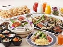 北海道らしさ、港町らしさを感じる和洋約70種類の朝食ビュッフェ