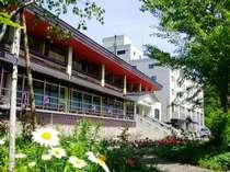 ◆【春】ホテルサンバード外観◆