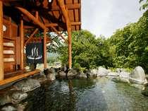 ◆【百景花】山の中腹にある男女別の大露天風呂◆