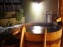 個室貸切露天風呂一例「酒樽の湯」他全11種類