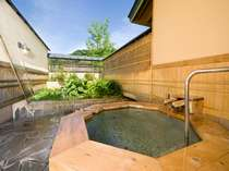【11種類の貸切露天風呂一例】「翠どころの湯」檜好きにオススメ!