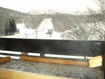 ◆【冬】露天風呂付客室一例◆