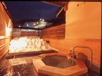 スキー&スノーボードの後はゆっくり天然温泉♪11種類の貸切露天風呂一例「翠どころの湯」