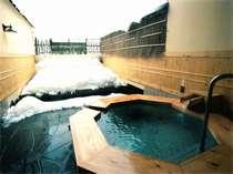 雪見の貸切露天風呂一例「翠どころの湯」(他全11種類)