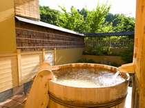 【11種類の貸切露天風呂一例】「酒だるの湯」