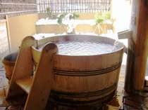 雪見の貸切露天風呂【40分無料】「酒樽の湯」(他全11種類)