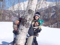 ◆当館目の前!藤原スキー場◆