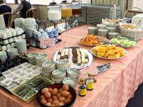 ◆【朝食バイキング】和洋お好きなものをお選びください♪◆