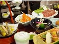 ◆【春】露天風呂付客室お部屋食一例◆