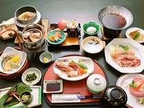 ご夕食一例「秋の松茸会席膳」