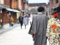 カップル限定☆着物デート♪2人だけの素敵な時間を過ごす金沢おさんぽプラン【1泊朝食付き】