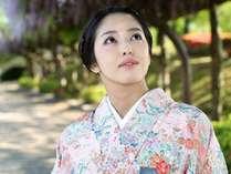 女性だけの休息…石川の伝統工芸「加賀友禅」「能登上布」の着物でワンランク上の金沢散策【1泊朝食付き】