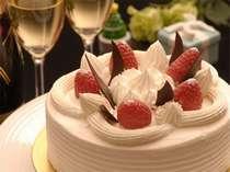 【じゃらん限定】温泉旅館でクリスマス♪ケーキとスパークリングワイン♪お部屋食!貸切無料と色浴衣