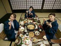 お部屋食のイメージ伊豆 熱川 温泉 旅館 お部屋食 の 熱川 館