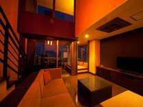 """旅館では珍しい≪メゾネット客室≫ """"満足度""""も""""想い出""""にも残る一室を"""
