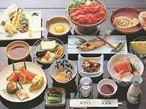 旬の食材を使用した会席料理【一例】季節によって料理の献立が変わります♪
