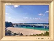 お部屋から見える広い空と青い海、まさに南国沖縄を肌で感じることが出来ます
