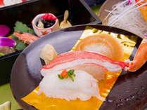 *お料理一例/食材は料理長自ら毎日仕入れに出掛け、新鮮なものをご用意しております。