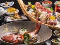 金目鯛の煮付けに、舟盛り…海の幸尽くしのご旅行はいかがですか。