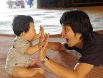子供の笑顔が何よりの家族の幸せ。私たちが目指すのは最幸の笑顔創り、家族のきずなが深まる湯宿