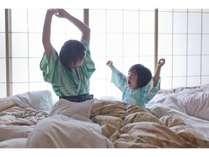 【朝日とともに】東向きのお部屋には朝日差し込みます。おはよぉ~