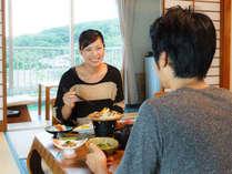 【御部屋でゆったり】お部屋食で大切な時間をお過ごしください。