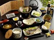 【地元食材満載/朝食】美味しい君津の朝食をテーマに全9品でご用意しております※イメージ
