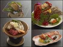 [当館一番人気]選べる4種のメイン料理