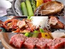 【スタンダード】選べるメインのお料理とプライベート空間で愉しむ想い出温泉旅行