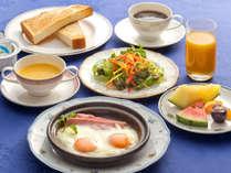 【朝食一例‐洋食‐】栄養満点◎の洋食。