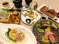 【グレードアップ/和食】四季折々変わる季節の味覚を堪能!料理長おすすめ料理コース(H30.10)