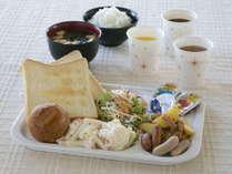 朝食サービス☆ご飯派の方にも、パン派の方にも♪