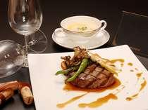 【欧風レストラン「バーデンバーデン」】飛騨牛【フィレ】&【サーロイン】を贅沢に食べ比べ♪