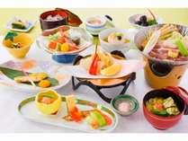 【秋】松プランお試し価格で気軽に楽しめるこのプラン、お得な価格でもお料理は満腹。