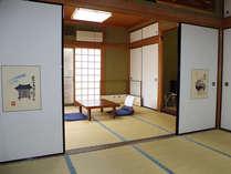 【二間続き】1階にある二間続きのゆったりとしたお部屋です。