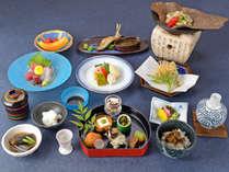 *【スタンダード会席】地元の旬の食材にこだわった、料理長自慢の逸品をご堪能ください。