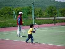 ☆【テニス プラン】 涼しい高原でいい汗かこう!
