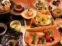山川の美味しい幸が皆様をお待ちしております。