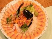 安曇野の清流で育った岩魚は、涼しげな味わいです。