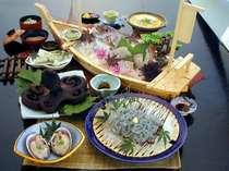 【ちりめん御膳DX・B】たっぷりのシラス料理に選べるアワビ付