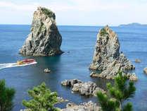 国定公園 絶景の青海島