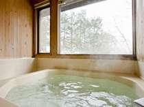 館内の展望ミネラル風呂は貸し切り可