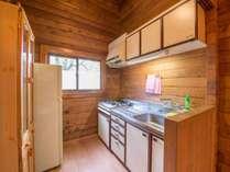 *8名用カナダ産ログハウス(137平米)/キッチンのある部屋もございます