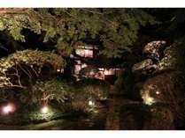 和食処 翠州亭 (夜の外観) / 旧スイス大使館をそのまま移設しました