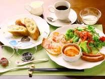 当館の朝食です♪高原地らしい爽やかな味をお楽しみください♪